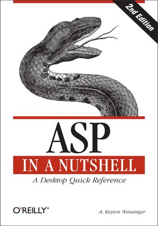 Okładka książki/ebooka ASP in a Nutshell. A Desktop Quick Reference. 2nd Edition