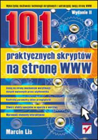 Okładka książki/ebooka 101 praktycznych skryptów na stronę WWW. Wydanie II