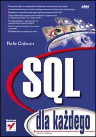 Okładka książki/ebooka SQL dla każdego