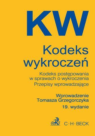 Okładka książki/ebooka Kodeks wykroczeń