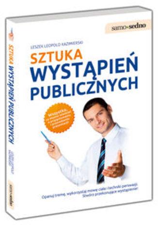 Okładka książki/ebooka Sztuka wystapień publicznych