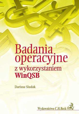 Okładka książki/ebooka Badania operacyjne z wykorzytsaniem WinQSB