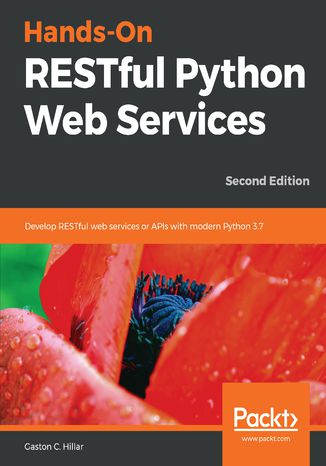 Okładka książki/ebooka Hands-On RESTful Python Web Services