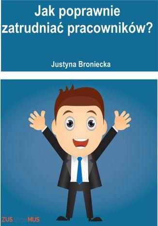 Okładka książki/ebooka Jak poprawnie zatrudniać pracowników