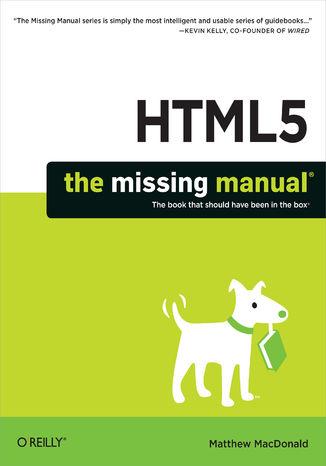 Okładka książki/ebooka HTML5: The Missing Manual