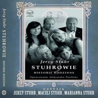 Okładka książki Stuhrowie. Historie rodzinne