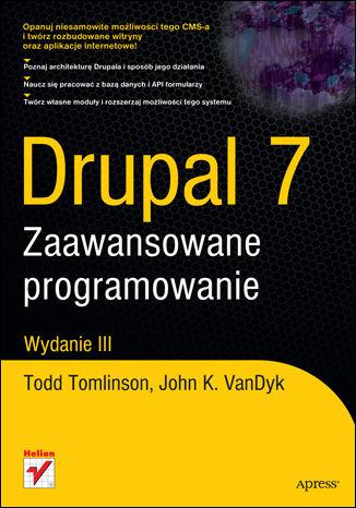 Okładka książki/ebooka Drupal 7. Zaawansowane programowanie