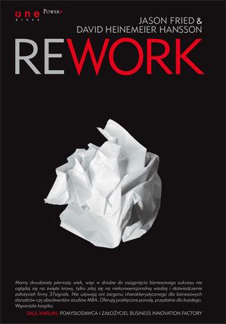 Okładka książki Rework