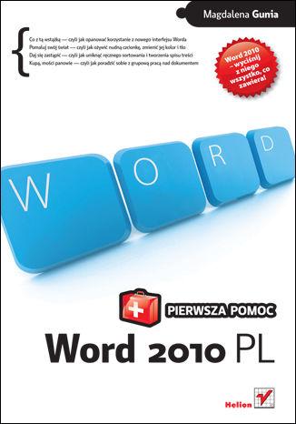 Okładka książki/ebooka Word 2010 PL. Pierwsza pomoc