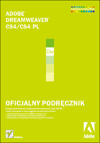 Okładka książki/ebooka Adobe Dreamweaver CS4/CS4 PL. Oficjalny podręcznik
