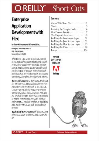 Okładka książki/ebooka Agile Enterprise Application Development with Flex