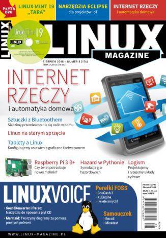 Okładka książki/ebooka Linux Magazine 08/2018 (174)