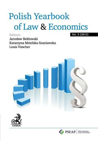 Okładka książki/ebooka Polish Yearbook of Law and Economics. Vol. 3 (2012)