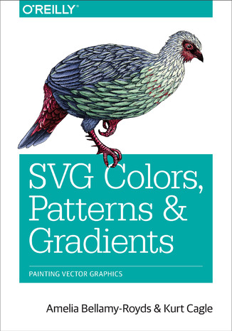 Okładka książki/ebooka SVG Colors, Patterns & Gradients. Painting Vector Graphics