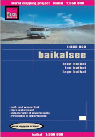 Okładka książki/ebooka Bajkał. Mapa  Reise Know-How / 1:550 000