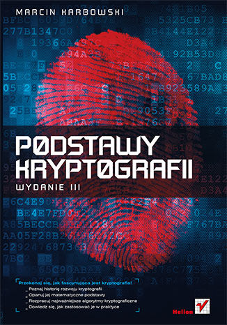 Okładka książki Podstawy kryptografii. Wydanie III