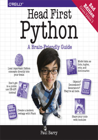 Okładka książki/ebooka Head First Python. A Brain-Friendly Guide. 2nd Edition