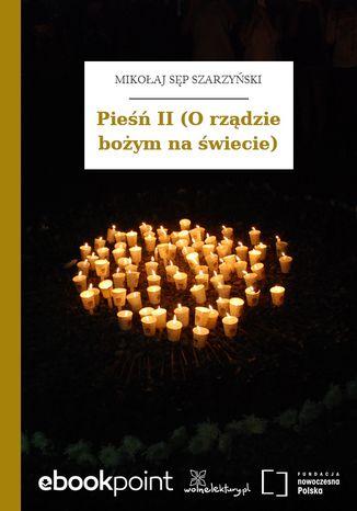 Okładka książki/ebooka Pieśń II (O rządzie bożym na świecie)