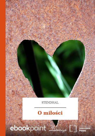 Okładka książki/ebooka O miłości
