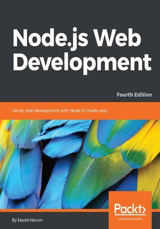 Okładka książki/ebooka Node.js Web Development