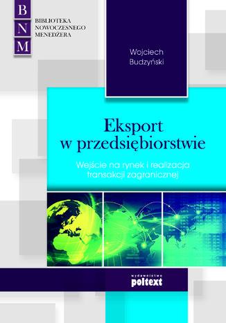 Okładka książki/ebooka Eksport w przedsiębiorstwie