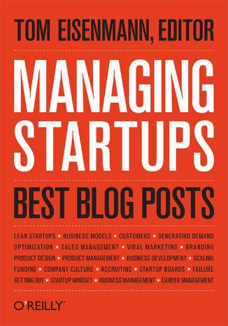 Okładka książki/ebooka Managing Startups: Best Blog Posts