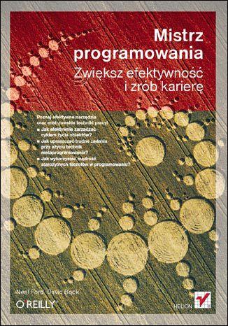 Okładka książki/ebooka Mistrz programowania. Zwiększ efektywność i zrób karierę