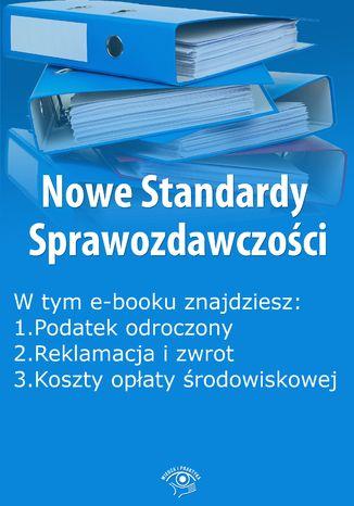 Okładka książki/ebooka Nowe Standardy Sprawozdawczości , wydanie marzec 2015 r. część I