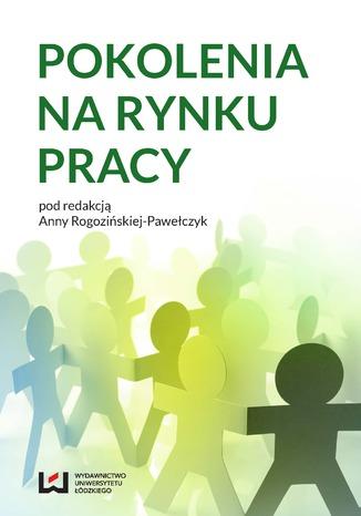 Okładka książki/ebooka Pokolenia na rynku pracy