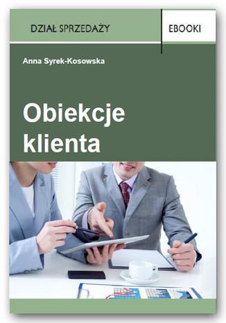Okładka książki/ebooka Obiekcje klienta
