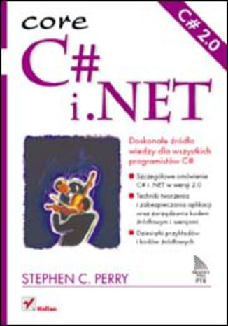 Okładka książki/ebooka C# i .NET