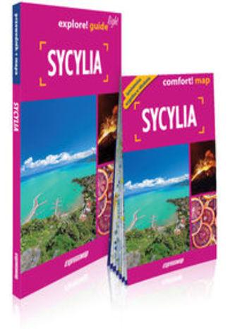 Okładka książki/ebooka Sycylia light przewodnik + mapa. explore guide! light