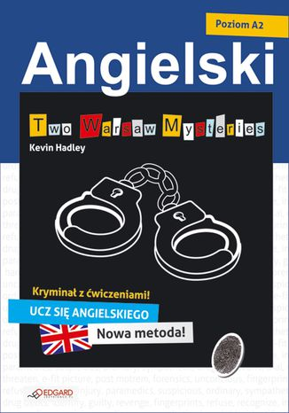 Okładka książki/ebooka Angielski kryminał z ćwiczeniami Two Warsaw Mysteries