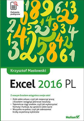 Okładka książki/ebooka Excel 2016 PL. Ćwiczenia praktyczne