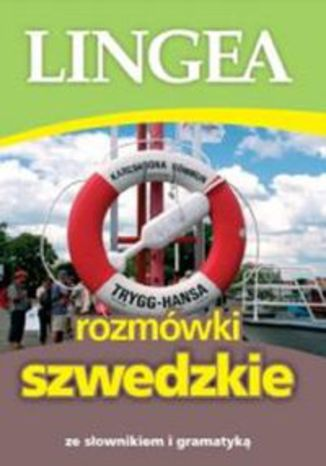 Okładka książki/ebooka Lingea rozmówki szwedzkie. ze słownikiem i gramatyką