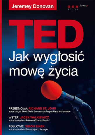 Okładka książki/ebooka TED. Jak wygłosić mowę życia