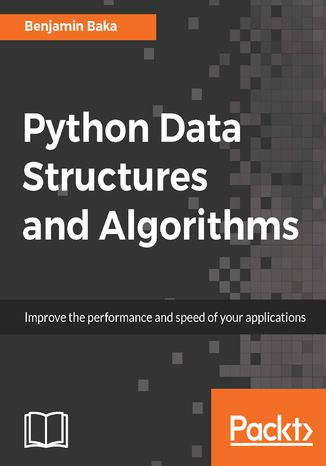 Okładka książki/ebooka Python Data Structures and Algorithms