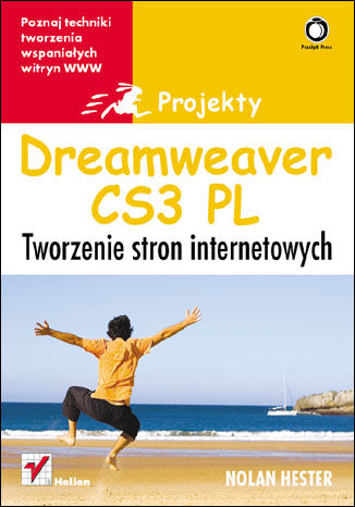 Okładka książki/ebooka Dreamweaver CS3. Tworzenie stron internetowych. Projekty
