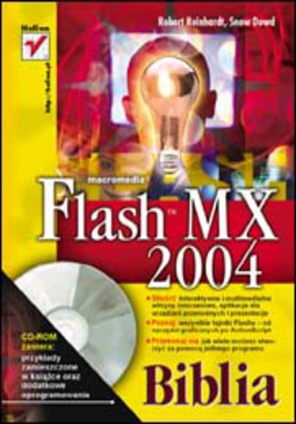 Okładka książki/ebooka Flash MX 2004. Biblia