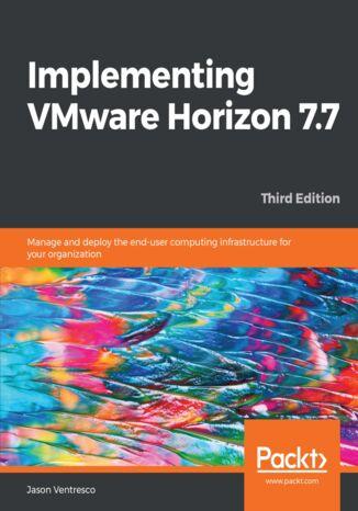 Okładka książki/ebooka Implementing VMware Horizon 7.7