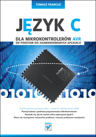 Okładka książki/ebooka Język C dla mikrokontrolerów AVR. Od podstaw do zaawansowanych aplikacji