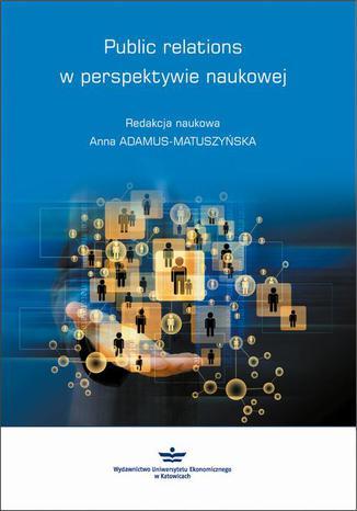Okładka książki/ebooka Public relations w perspektywie naukowej
