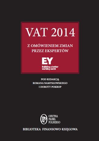 Okładka książki/ebooka VAT 2014 z omówieniem ekspertów EY