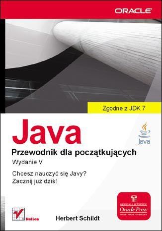 Okładka książki/ebooka Java. Przewodnik dla początkujących. Wydanie V