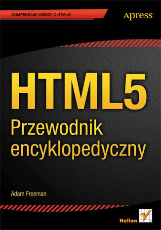 Okładka książki/ebooka HTML5. Przewodnik encyklopedyczny
