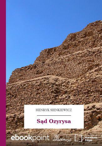 Okładka książki/ebooka Sąd Ozyrysa