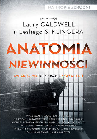 Okładka książki/ebooka Anatomia niewinności. Świadectwa niesłusznie skazanych
