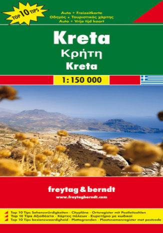 Okładka książki/ebooka Kreta. Mapa samochodowa