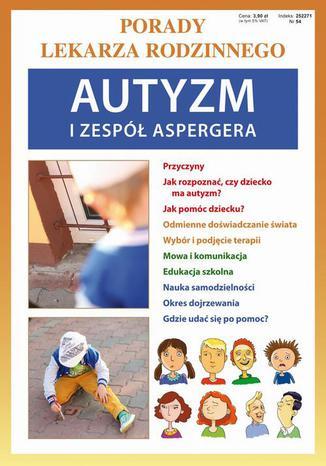 Okładka książki/ebooka Autyzm i zespół Aspergera. Porady lekarza rodzinnego