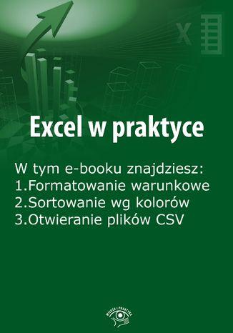 Okładka książki Excel w praktyce, wydanie sierpień 2015 r